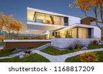 3d rendering of modern cozy... | Shutterstock . vector #1168817209