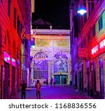 genova  italy  august 26 2018 ... | Shutterstock . vector #1168836556