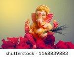 lord ganesha   ganesh festival | Shutterstock . vector #1168839883