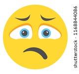 emoticon flat design for... | Shutterstock .eps vector #1168844086