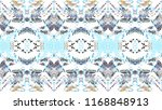 mosaic colorful artistic... | Shutterstock . vector #1168848913