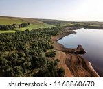 aerial view of the low water... | Shutterstock . vector #1168860670