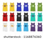sport basketball jerseys | Shutterstock .eps vector #1168876360