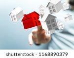 house in hand | Shutterstock . vector #1168890379