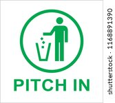 pitch inn sign | Shutterstock .eps vector #1168891390