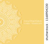 invitation or card template... | Shutterstock .eps vector #1168904230