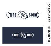 tyre shop logo design   tyre... | Shutterstock .eps vector #1168919620