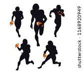 a set of american football...   Shutterstock .eps vector #1168920949
