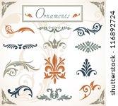 victorian scroll ornaments   a...
