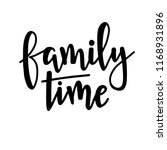 family time hand drawn... | Shutterstock .eps vector #1168931896