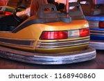 bumper cars on a fairground   Shutterstock . vector #1168940860