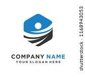 faster logo template vector | Shutterstock .eps vector #1168943053