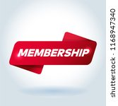 membership arrow tag sign. | Shutterstock .eps vector #1168947340