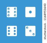 random icon. collection of 4... | Shutterstock .eps vector #1168953640