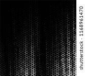 grunge halftone black and white ... | Shutterstock .eps vector #1168961470