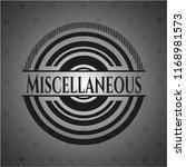miscellaneous realistic black... | Shutterstock .eps vector #1168981573