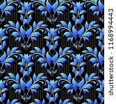 damask floral vector 3d... | Shutterstock .eps vector #1168994443