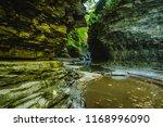 watkins glen state park | Shutterstock . vector #1168996090
