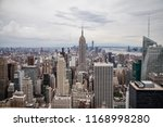nyc skyline empire | Shutterstock . vector #1168998280
