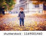 cute redhead toddler baby boy...   Shutterstock . vector #1169001460