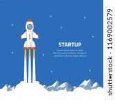 business startup concept banner.... | Shutterstock .eps vector #1169002579