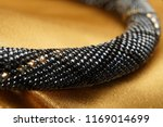 close up of bead rope  seed... | Shutterstock . vector #1169014699