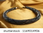 close up of bead rope  seed... | Shutterstock . vector #1169014906