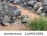 close up of a pile of granite... | Shutterstock . vector #1169021896