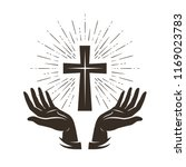 Church Logo Or Label. Prayer ...