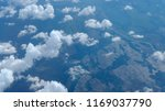 aerial view of clouds formation ... | Shutterstock . vector #1169037790
