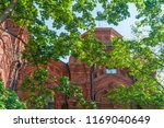 dilapidated cathedral of the... | Shutterstock . vector #1169040649
