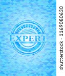 expert realistic sky blue... | Shutterstock .eps vector #1169080630