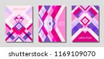 collection of cover page... | Shutterstock .eps vector #1169109070
