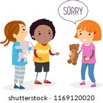 illustration of a stickman kid... | Shutterstock .eps vector #1169120020