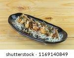 takoyaki  japanese food  | Shutterstock . vector #1169140849
