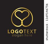 love line logo icon vector... | Shutterstock .eps vector #1169146756