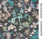 vector seamless pattern... | Shutterstock .eps vector #1169151106