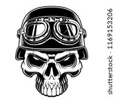 vector illustration of biker... | Shutterstock .eps vector #1169153206
