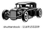 vector illustration of classic... | Shutterstock .eps vector #1169153209