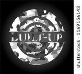 built up grey camo emblem | Shutterstock .eps vector #1169156143