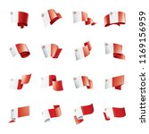 malta flag  vector illustration ...   Shutterstock .eps vector #1169156959
