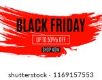 black friday on white... | Shutterstock .eps vector #1169157553