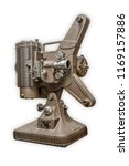 a vintage 8mm film projector on ... | Shutterstock . vector #1169157886