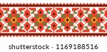 colored embroidery border.... | Shutterstock .eps vector #1169188516