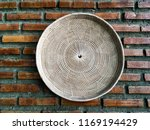 basket and tray made from dried ...   Shutterstock . vector #1169194429