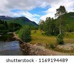 beautiful mountain view photo ... | Shutterstock . vector #1169194489
