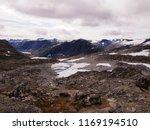 beautiful mountain view photo ... | Shutterstock . vector #1169194510