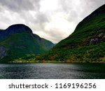 wonderful fjords  blue sea... | Shutterstock . vector #1169196256