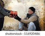 Christmas Gift For Homeless Man