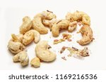 a picture of cashew nuts...   Shutterstock . vector #1169216536